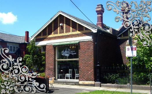 Austen Tearoom restaurant front